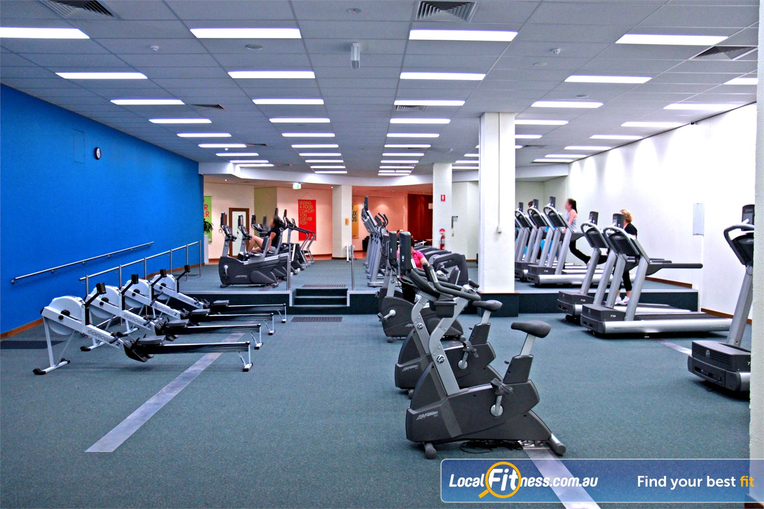 Fernwood Fitness Near Ruse Fernwood Campbelltown provides the latest cardio from Life Fitness.