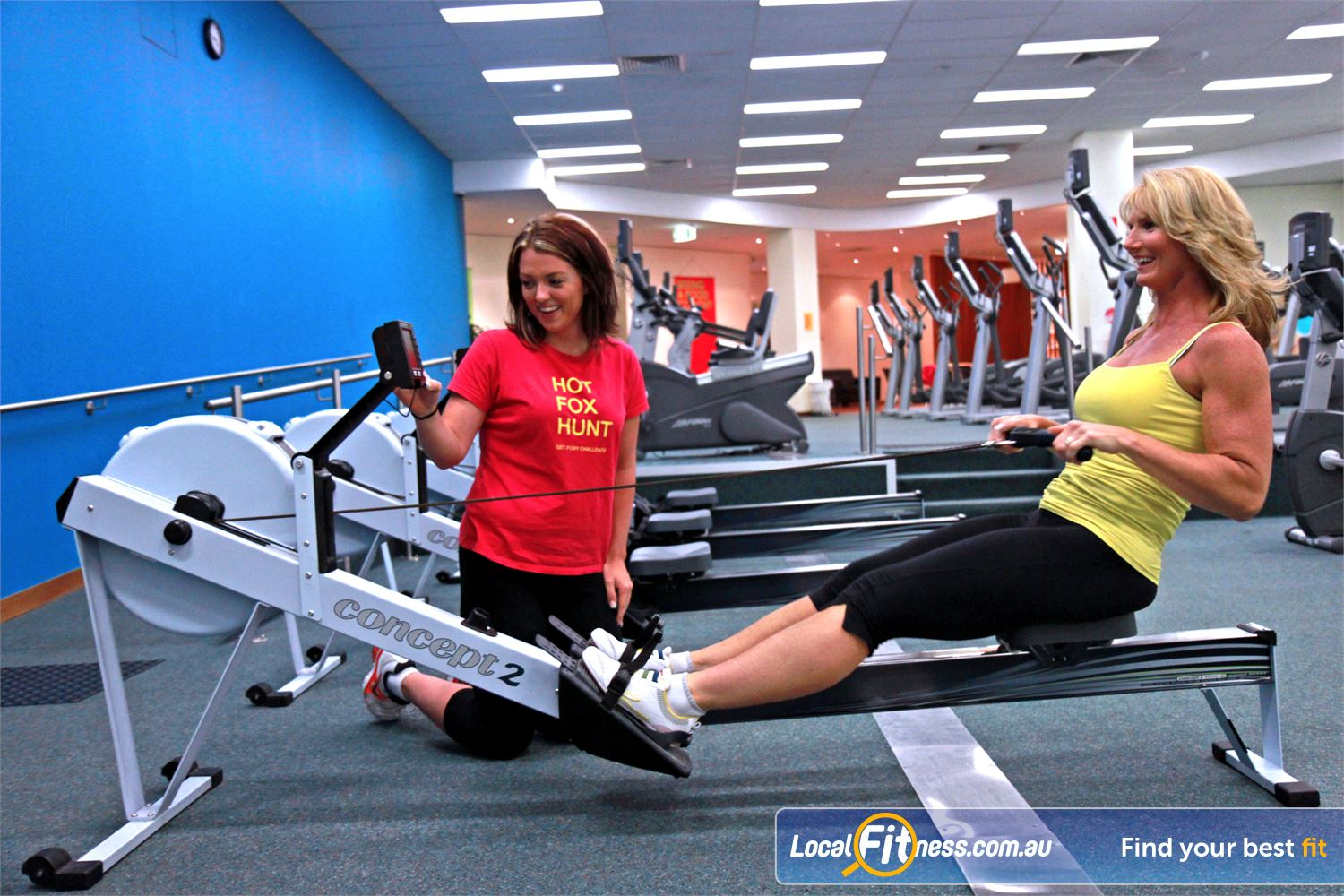Fernwood Fitness Near Englorie Park Vary your workout with our HUGE range of cardio, including indoor rowing in Campbelltown.