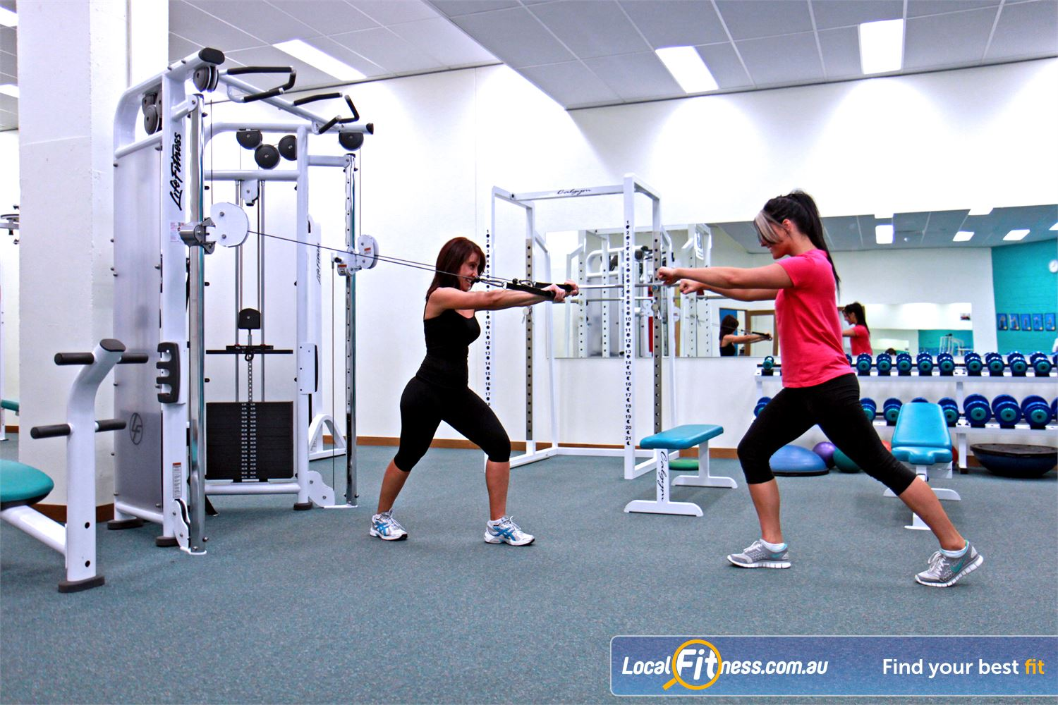Fernwood Fitness Near Ruse We have the right Campbelltown gym equipment to help with women's weight loss and strength.