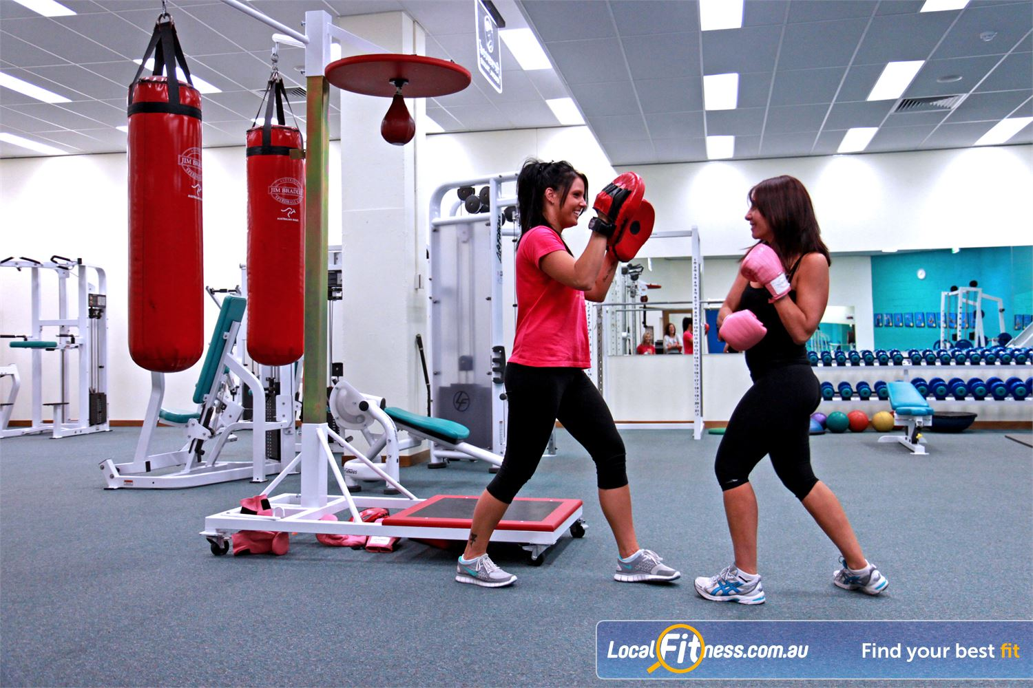 Fernwood Fitness Campbelltown Fernwood Campbelltown gym instructors can incorporate cardio boxing into your workouts.