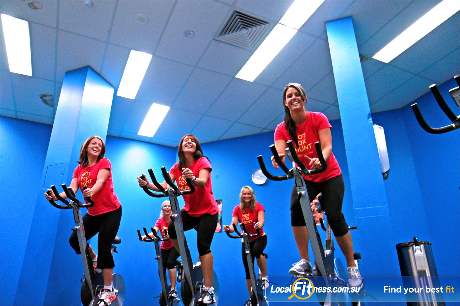 Fernwood Fitness Near Glen Alpine Music to encourage you to get moving during Campbelltown spin cycle classes.