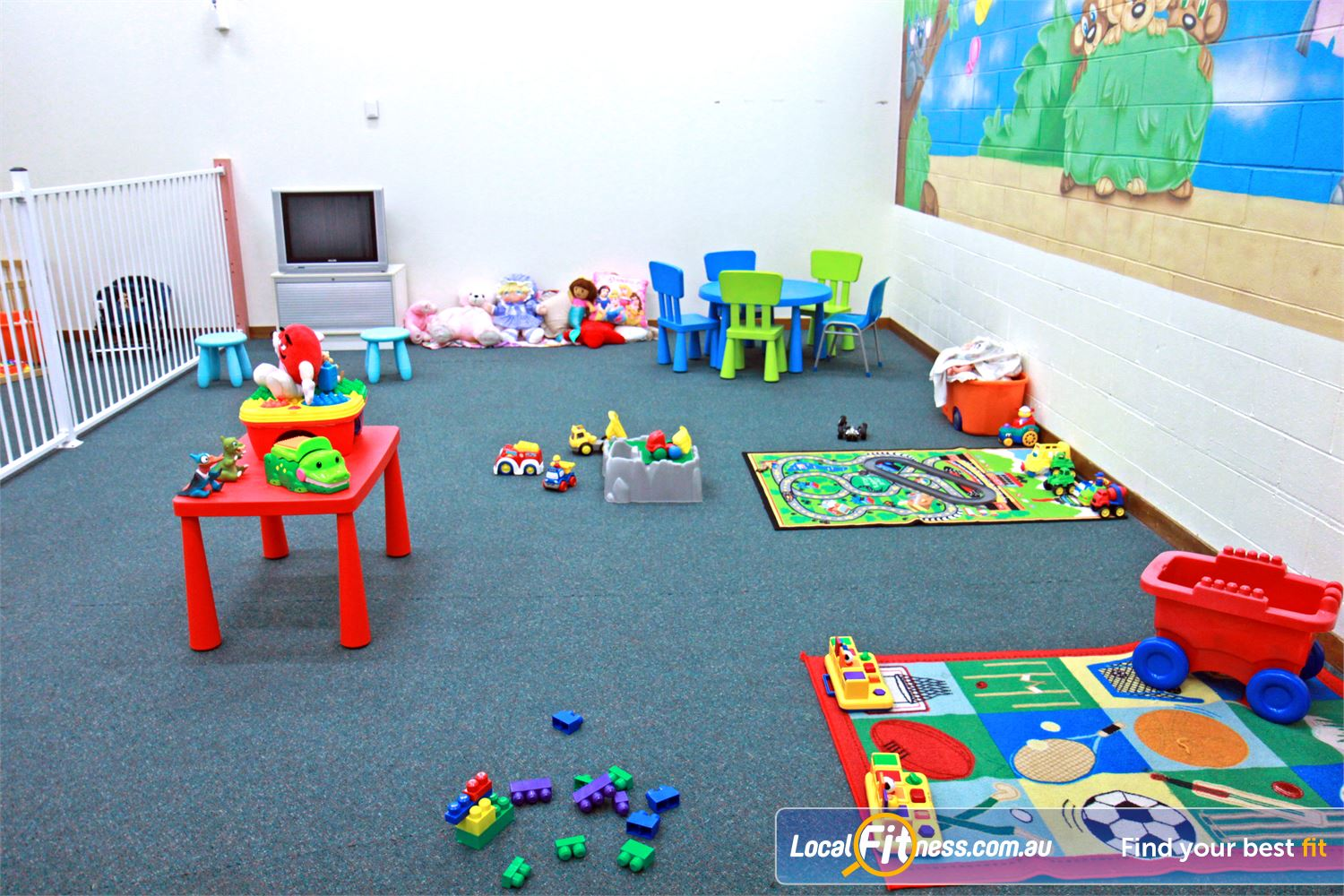 Fernwood Fitness Campbelltown Our Fernwood Campbelltown provides on-site child minding services.