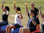 Step into Life Newtown Outdoor Fitness Outdoor Keep motivated by working as a