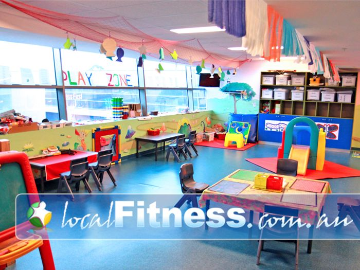 Fitness First Platinum Chadstone Gym Fitness Convenient Play Zone Child