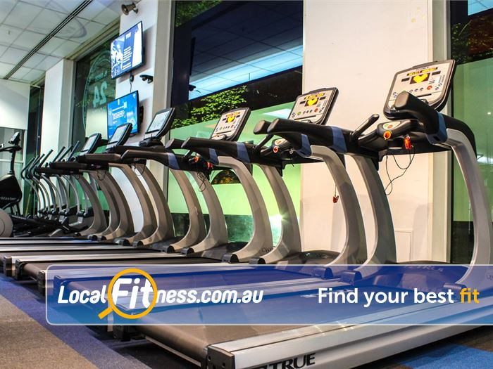 Genesis Fitness Clubs St Kilda Rd Gym North Melbourne  | Enjoy state of the art cardio when you