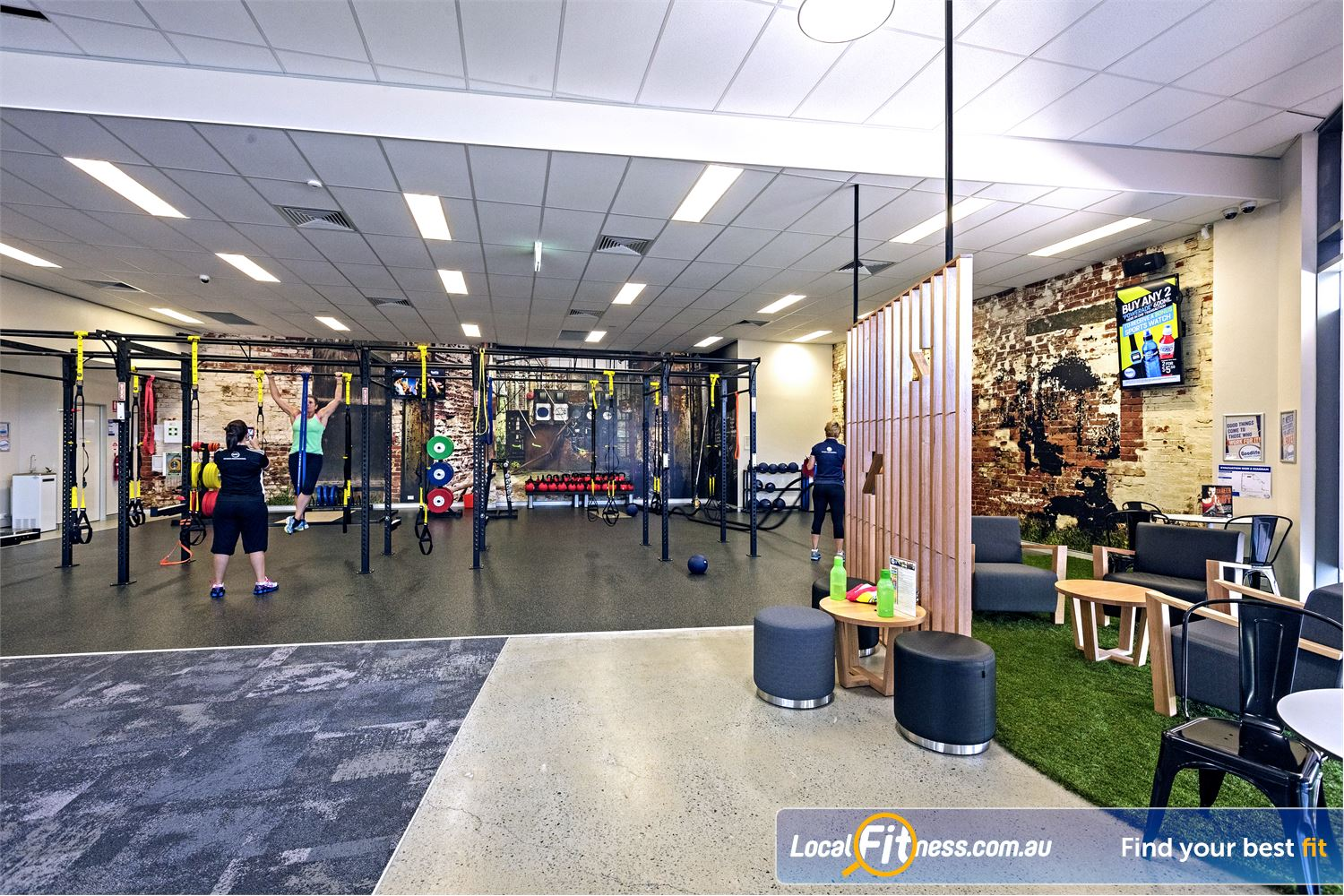 Goodlife Health Clubs Helensvale The state of the art Helensvale gym at Westfield Helensvale.