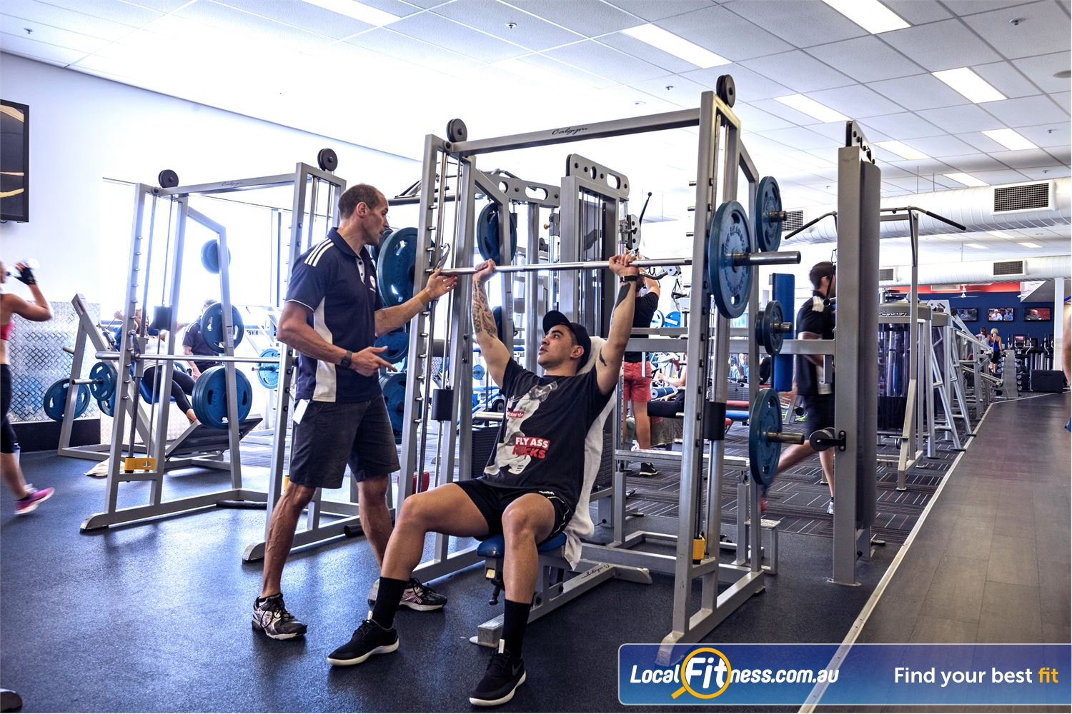 Goodlife Health Clubs Helensvale Goodlife Helensvale personal training is just that...personal.