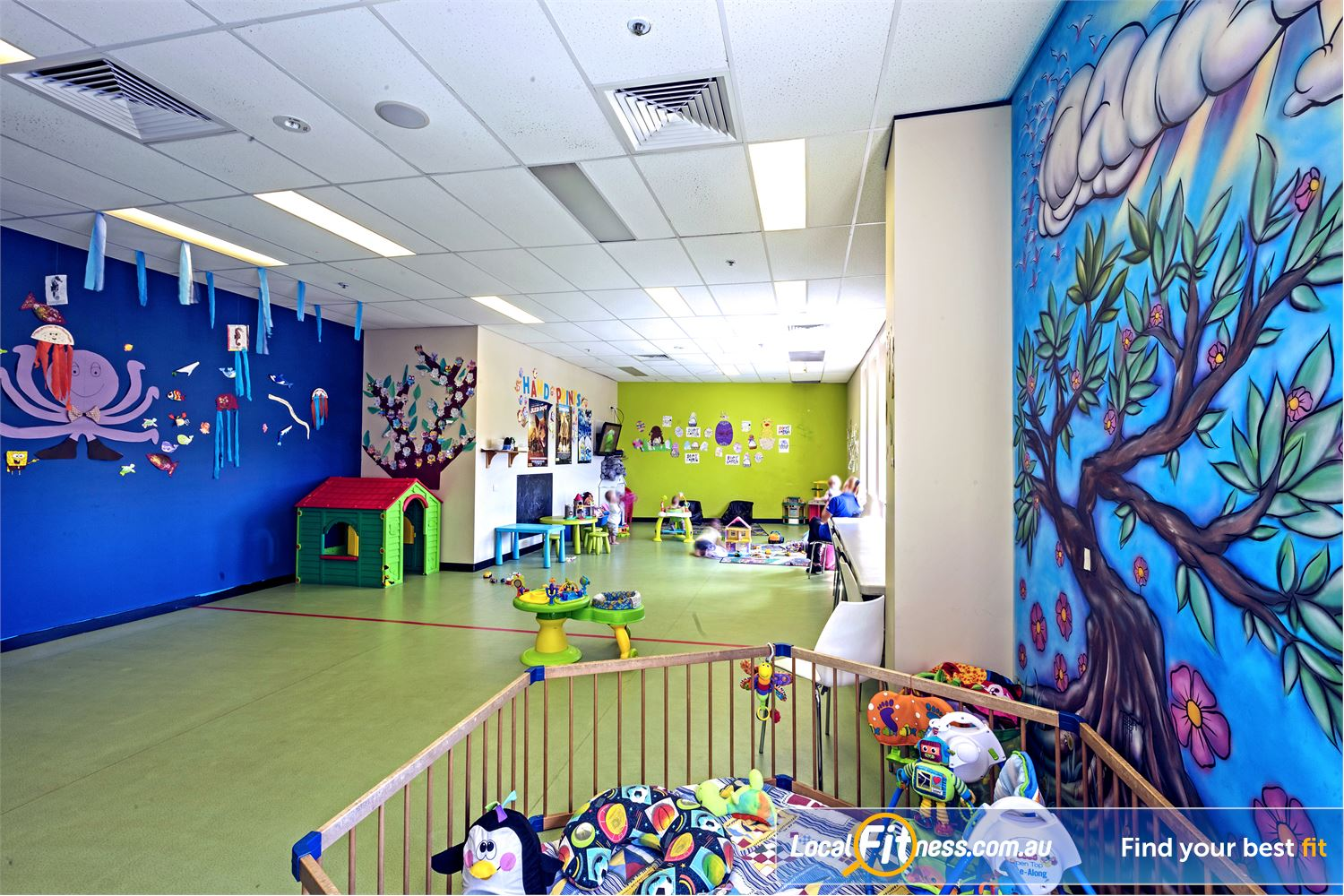 Goodlife Health Clubs Helensvale Helensvale child minding is part of our family friendly gym environment.