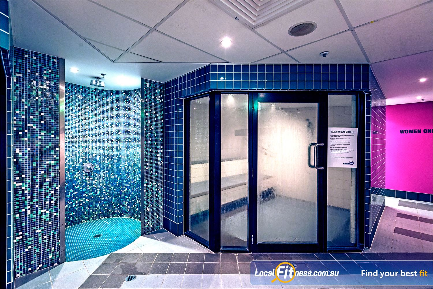 Goodlife health clubs exclusive change rooms helensvale pamper