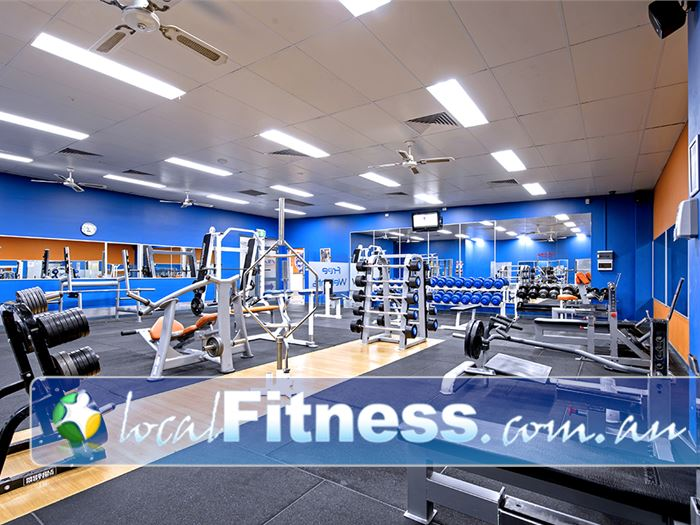 Plus Fitness Health Clubs Gym Narellan  | Our Narellan gym includes a comprehensive free-weights area.