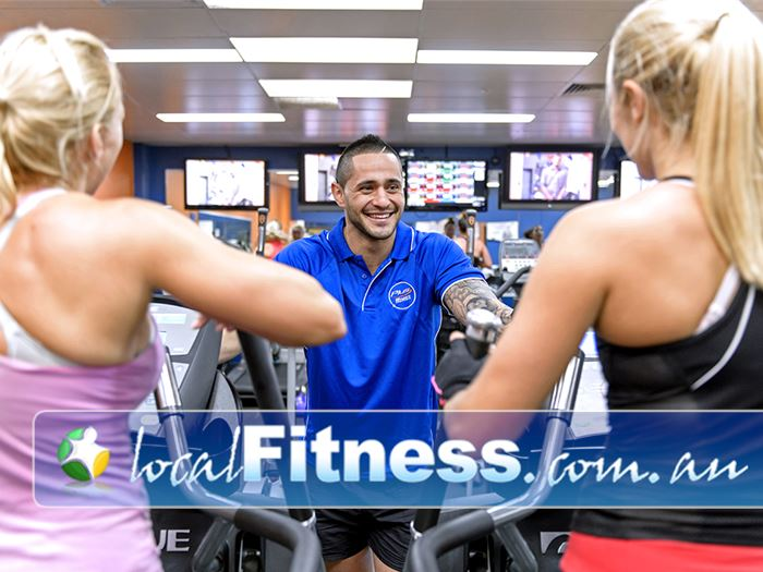 Plus Fitness Health Clubs Narellan Have a chat or tune into your favorite shows while you enjoy your cardio.