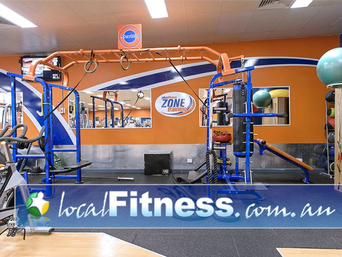 Plus Fitness Health Clubs Narellan Our functional training rig with power rings, battle ropes and more.