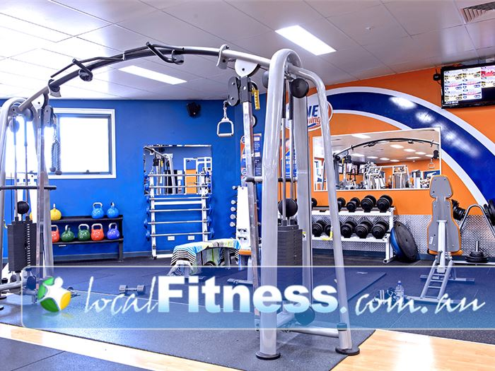 Plus Fitness Health Clubs Narellan The Narellan Cross Fit Performance Zone at Plus Fitness.