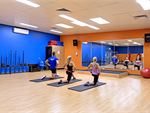 Plus Fitness Health Clubs Smeaton Grange Gym Fitness The abs and stretching area.