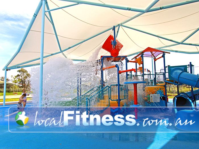 Noble Park Aquatic Centre Doveton Gym Fitness Tipping buckets and fountains