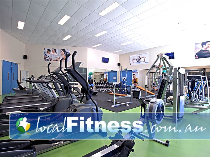 PCYC Gym Lutwyche  | The state of the art cardio area in