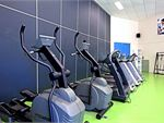 Our Zillmere gym includes cross trainers, treadmills and