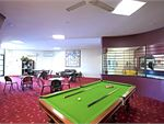 The relaxing members and recreational lounge.