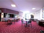 The members lounge is a comfortable areafor our