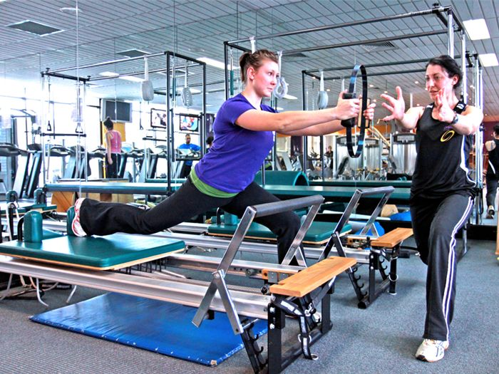 Orbit Fitness Near Point Piper Semi-private reformer Pilates setup in our Edgecliff gym.
