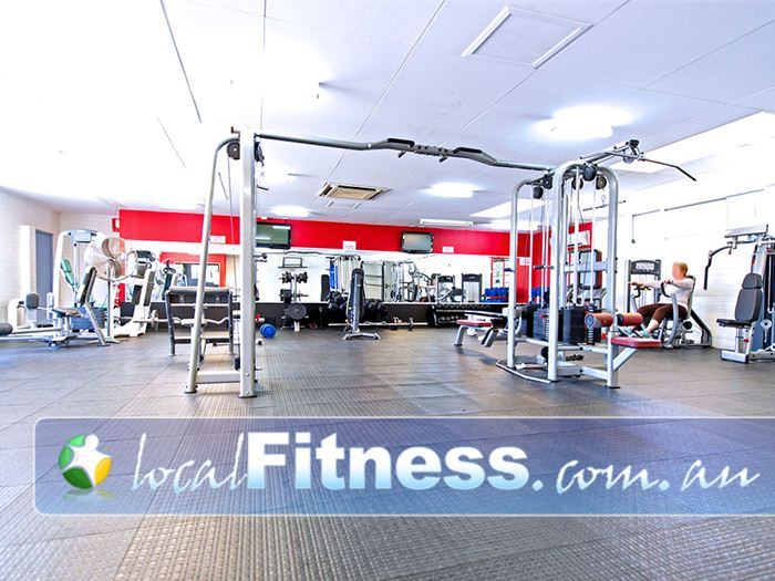 Michael Wenden Aquatic Leisure Centre Gym Casula  | State of the art equipment from Healthstream.