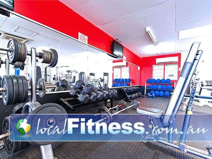 Michael Wenden Aquatic Leisure Centre Gym Miller  | Fully equipped with barbells, dumbbells, racks, benches and