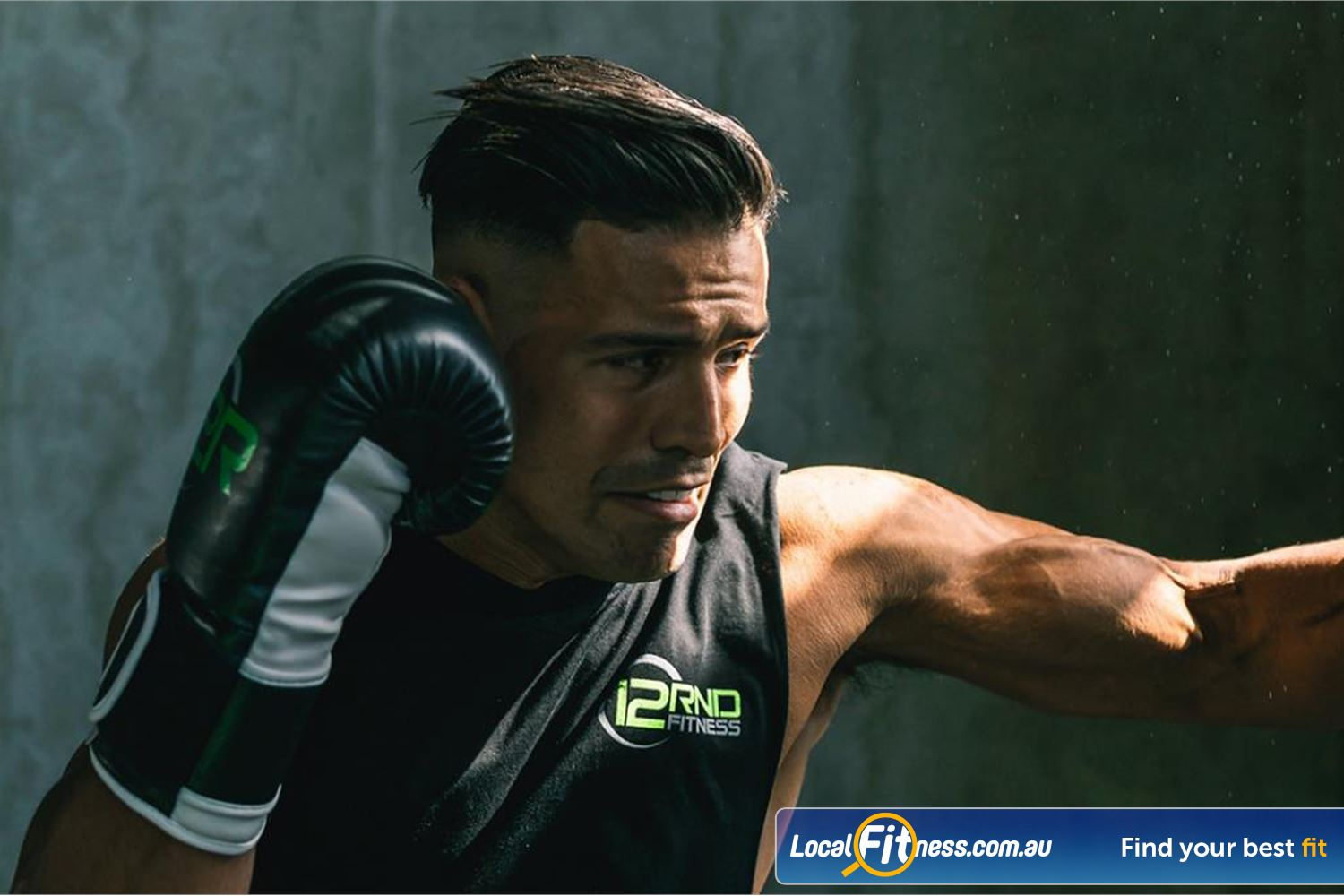 12 Round Fitness Near Ashburton Train harder and see results with boxing and HIIT training.