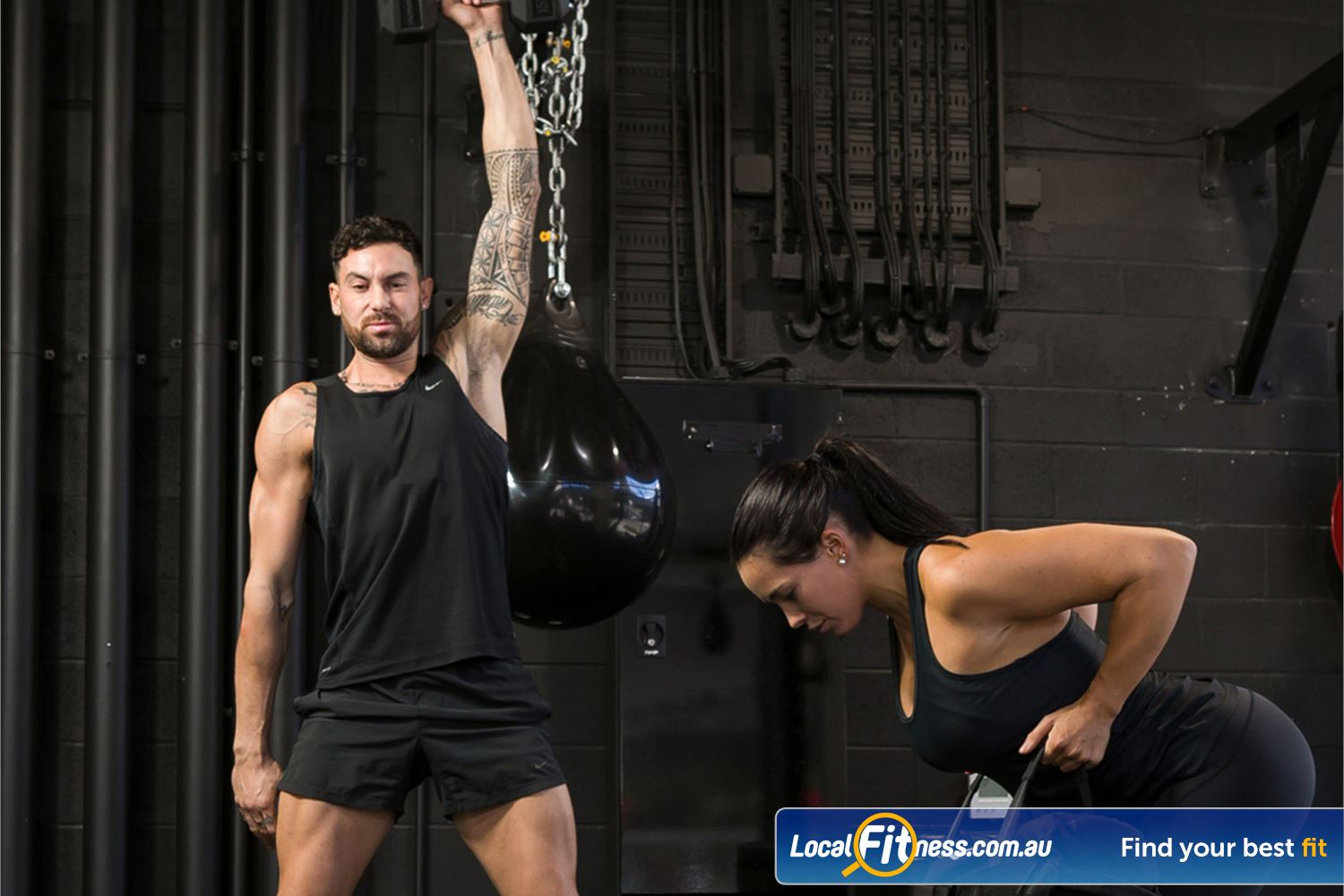 12 Round Fitness Near Canterbury Built around functional strength, conditioning and sports-based cardio.