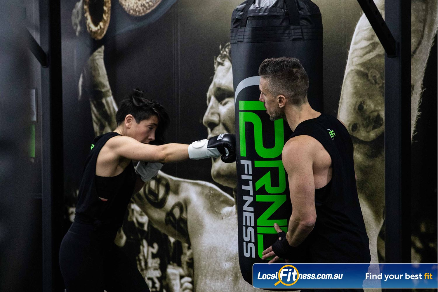 12 Round Fitness Camberwell Our workouts combine boxing skills and drills.