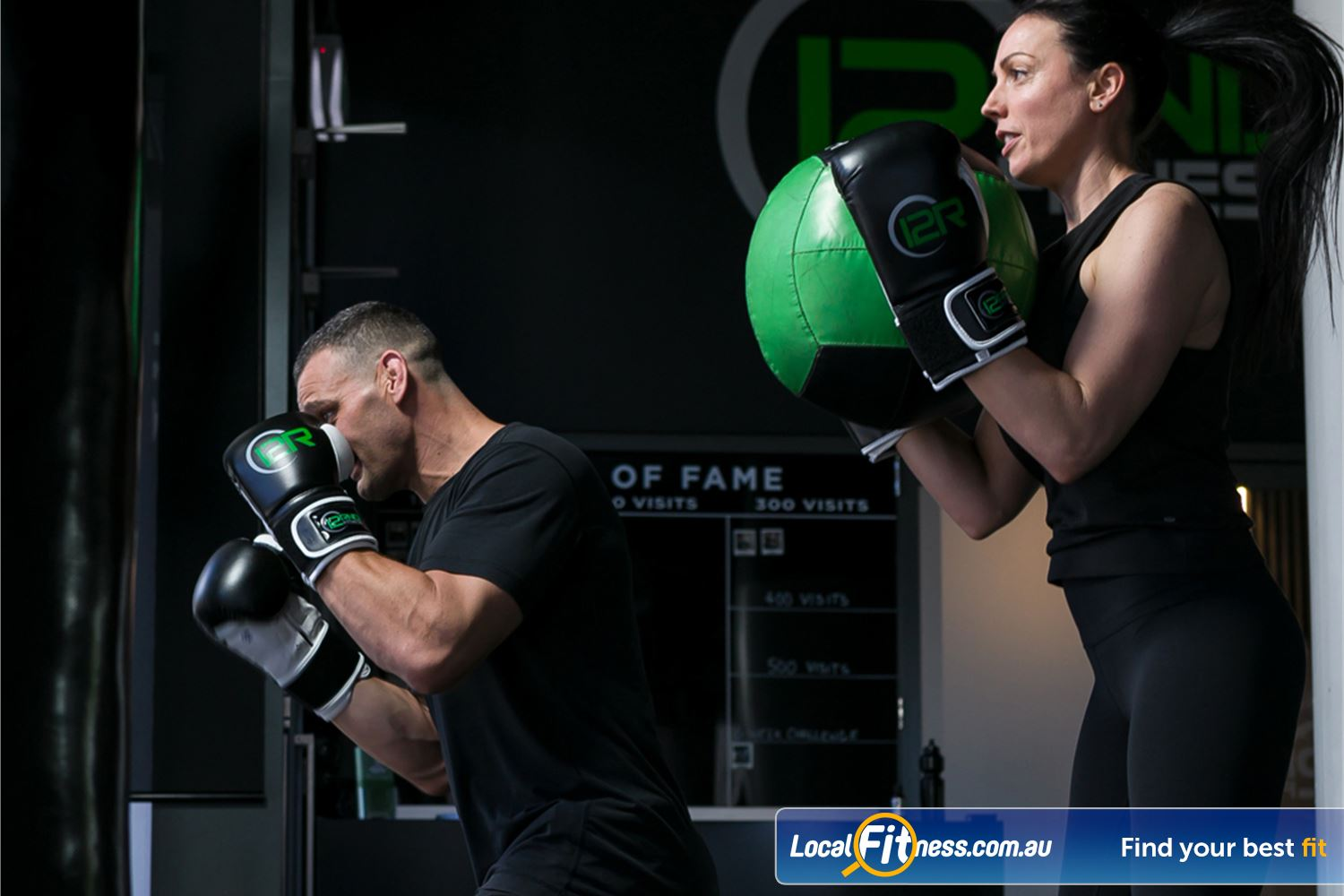 12 Round Fitness Near Canterbury Combining 3-minute boxing rounds to really give you a workout.