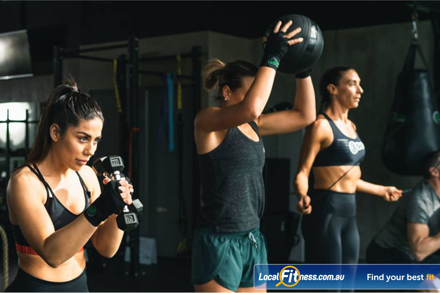12 Round Fitness Camberwell Our Camberwell functional training workouts are fast, fun and never boring.
