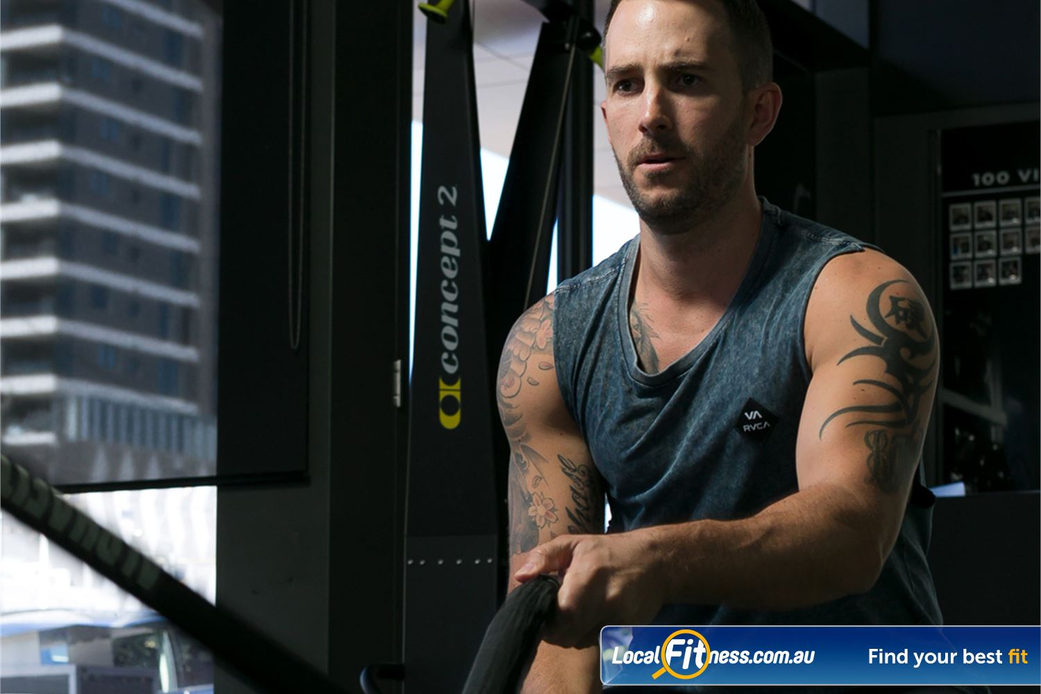12 Round Fitness Near Glen Iris Sports based cardio activities will have you training like an athlete.