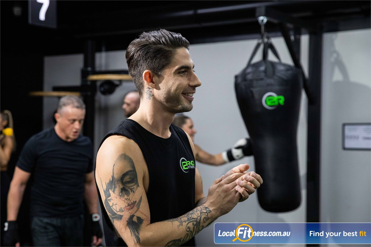 12 Round Fitness Near Glen Iris Experience a HIIT session at 12 Round Camberwell gym.