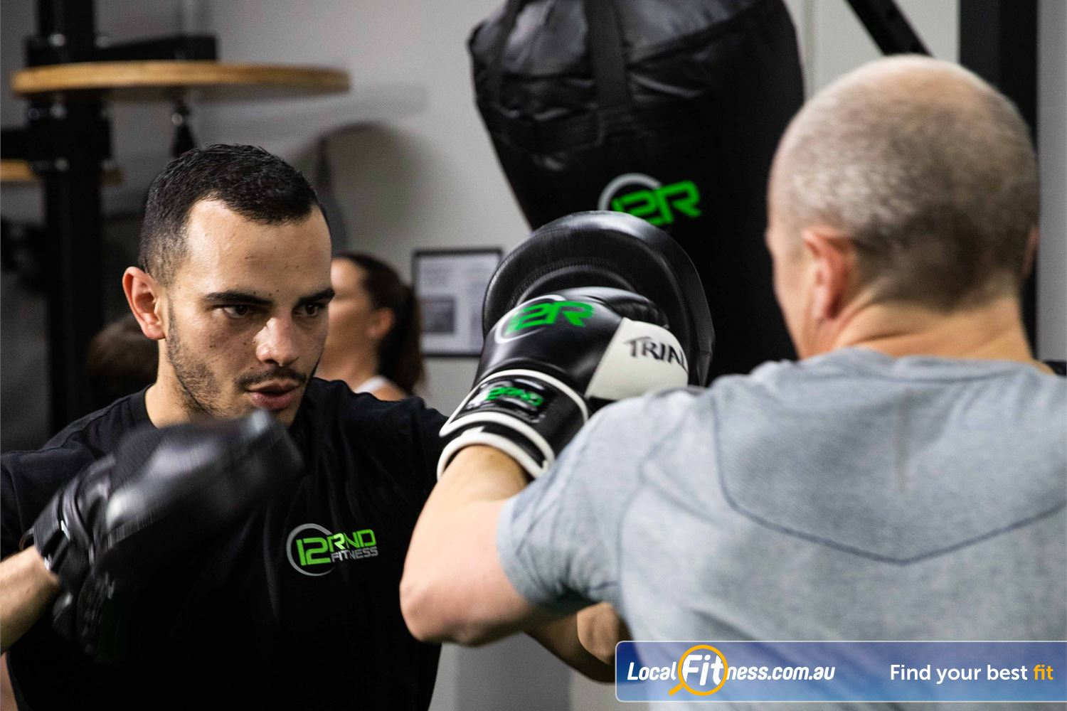 12 Round Fitness Camberwell It is like training with a Port Camberwell boxing coach.
