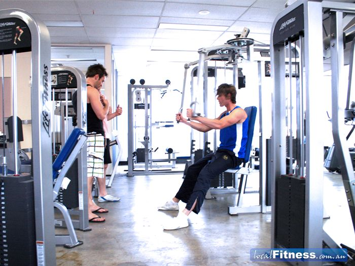 FitRock Gym Richmond A fully equipped Richmond gym with state of the art Life Fitness equipment.
