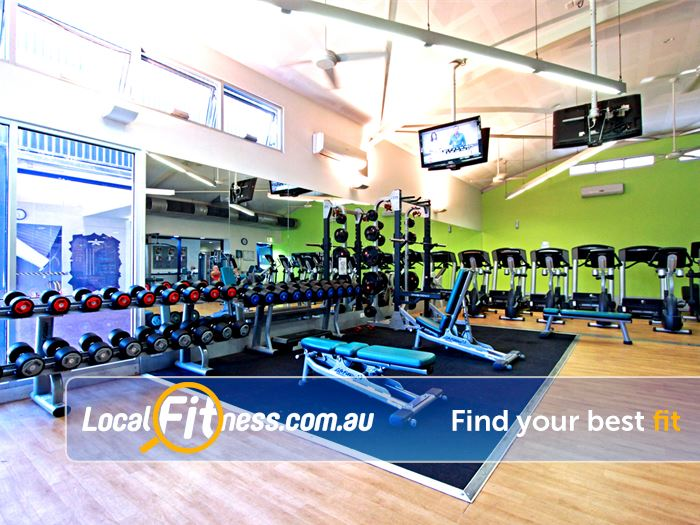 Kensington Community Recreation Centre Gym Maribyrnong  | Our Kensington gym at the Community Kensington Recreation