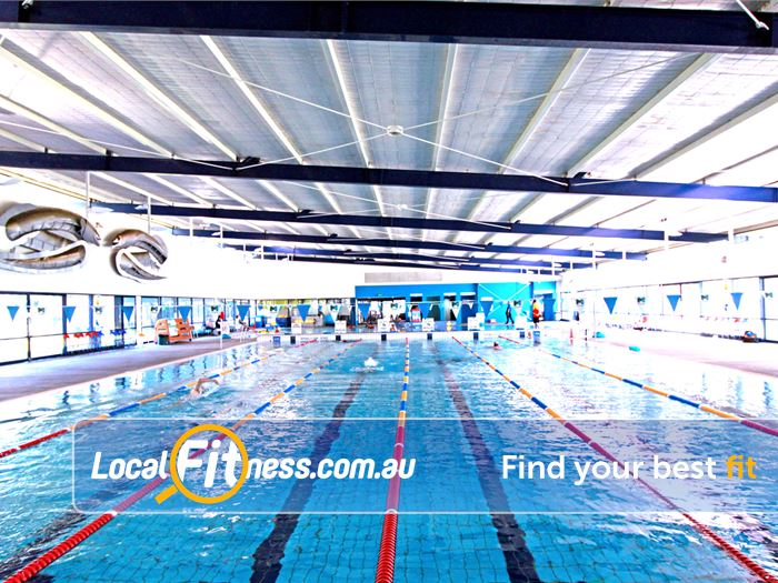 Kensington Community Recreation Centre Gym Docklands  | The 25m indoor Kensington swimming pool.
