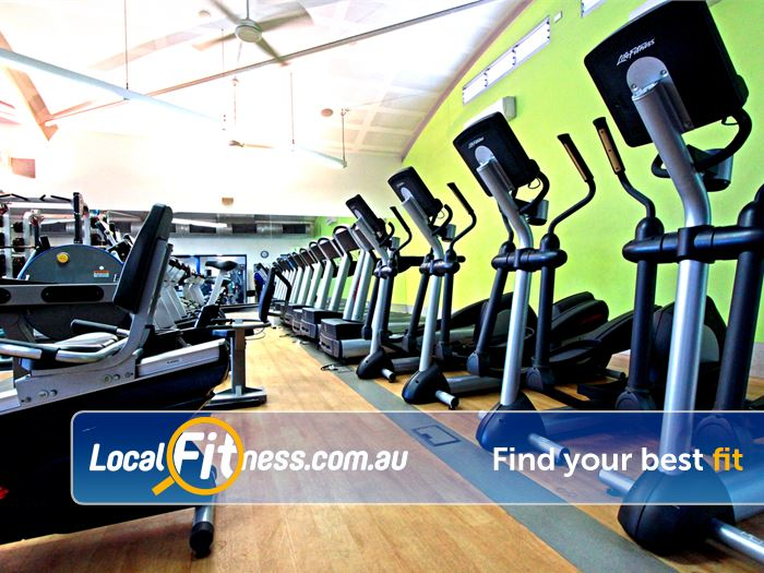 Kensington Community Recreation Centre Near Ascot Vale Vary your cardio with treadmills, cycle bikes, cross-trainers and more.
