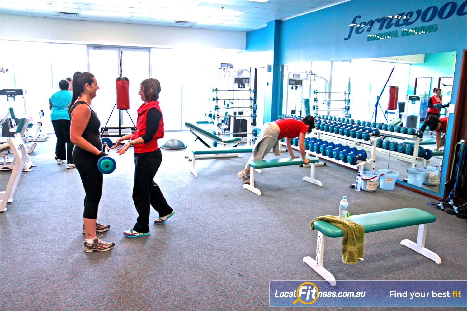 Fernwood Fitness Gungahlin We have the right Gungahlin gym equipment to help with women's weight loss and strength.
