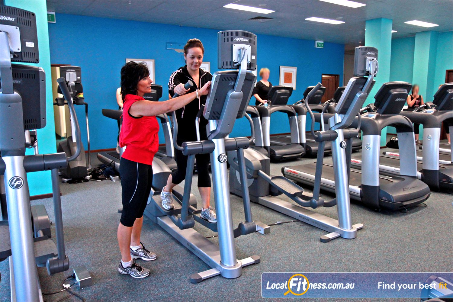 Fernwood Fitness Gungahlin Fernwood Gungahlin gym instructors can help you with cardio and weight management.