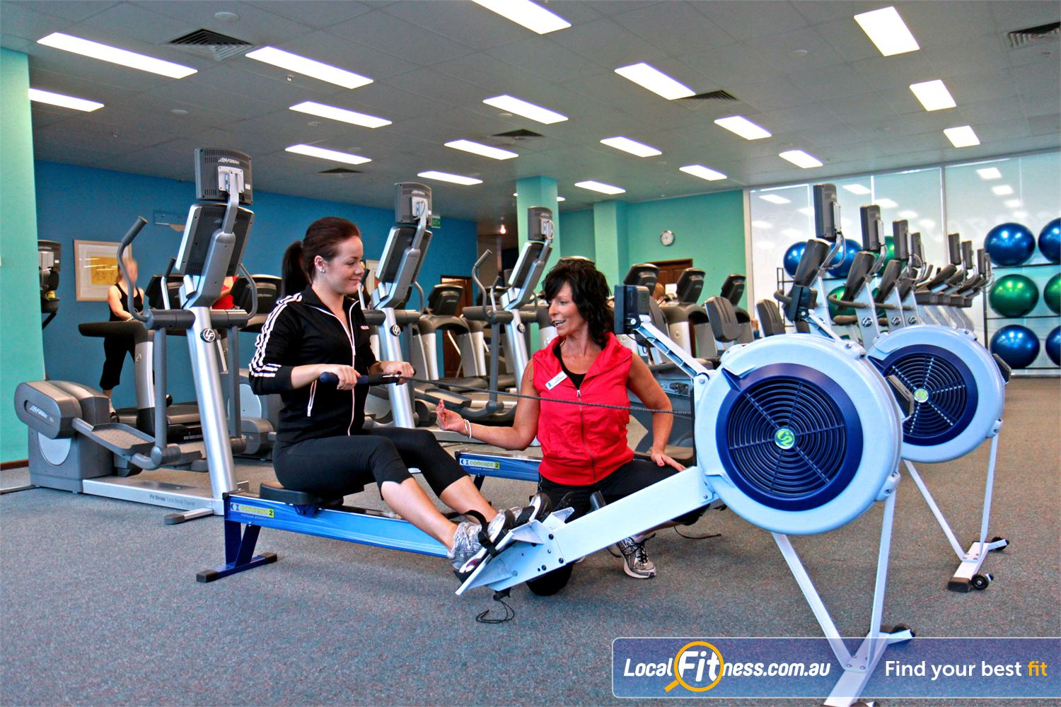 Fernwood Fitness Gungahlin Vary your workout with our HUGE range of cardio, including indoor rowing and more.