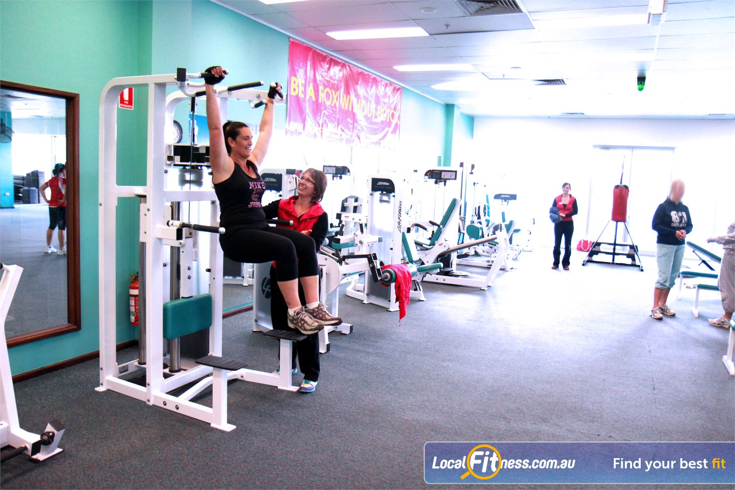 Fernwood Fitness Gungahlin Our Gungahlin women's gym includes state of the art equipment.