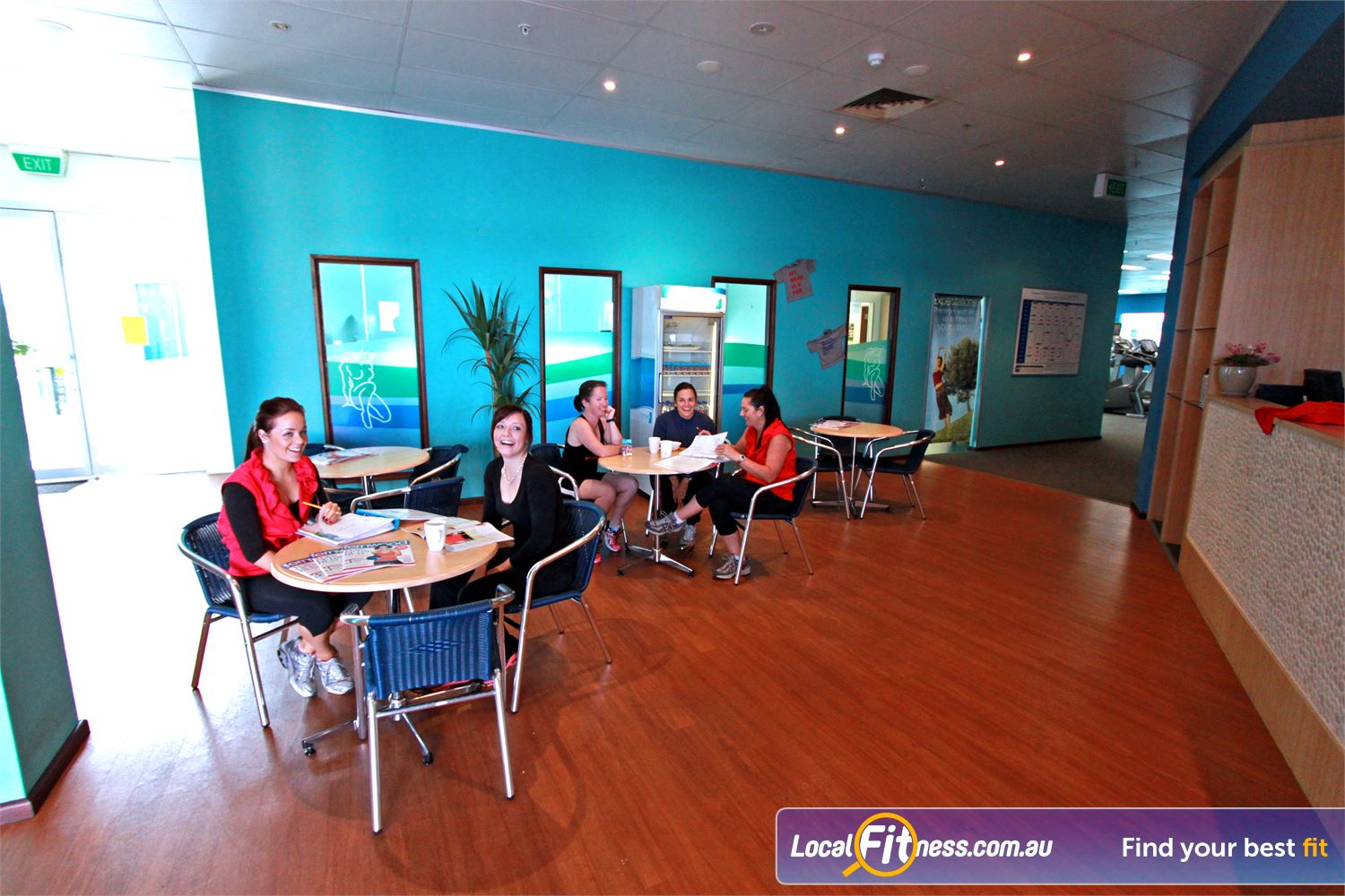 Fernwood Fitness Gungahlin Your own special place to unwind at Fernwood Gungahlin.