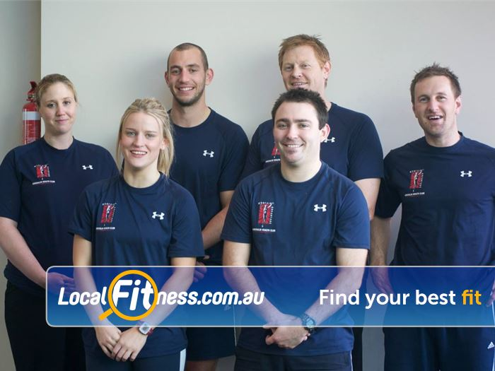 Adrenalin Health Gym Hawthorn East  | The Adrenalin Hawthorn Personal Training team will Manage.