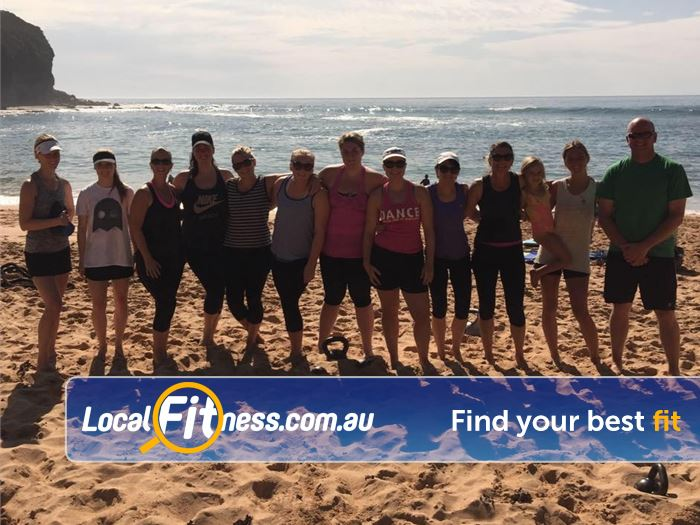 Basic Training Gym Mona Vale  | Enjoy beautiful outdoor training at Mona Vale beach.