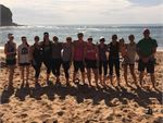 Enjoy beautiful outdoor training at Mona Vale beach.