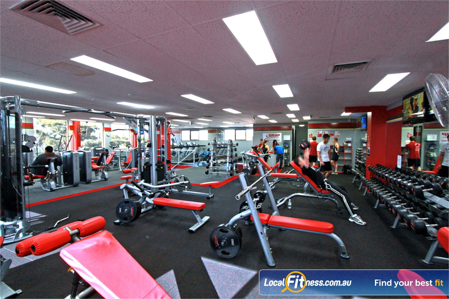Snap Fitness Near Kilsyth Convenient gym access day or night.