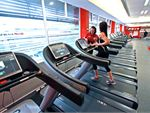Cardio training with a fully equipped cardio area.