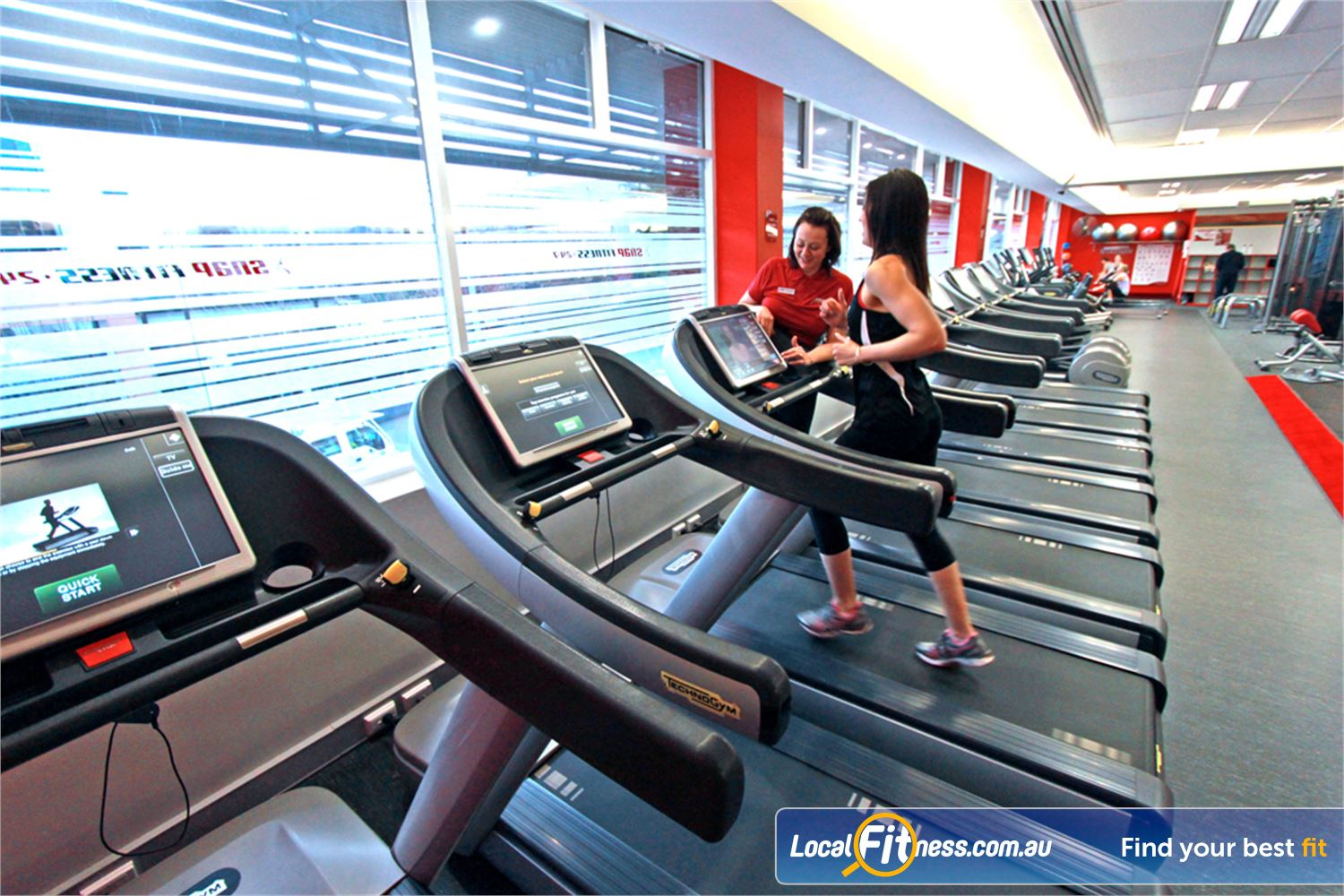Snap Fitness Near Bayswater North Cardio training with a fully equipped cardio area.