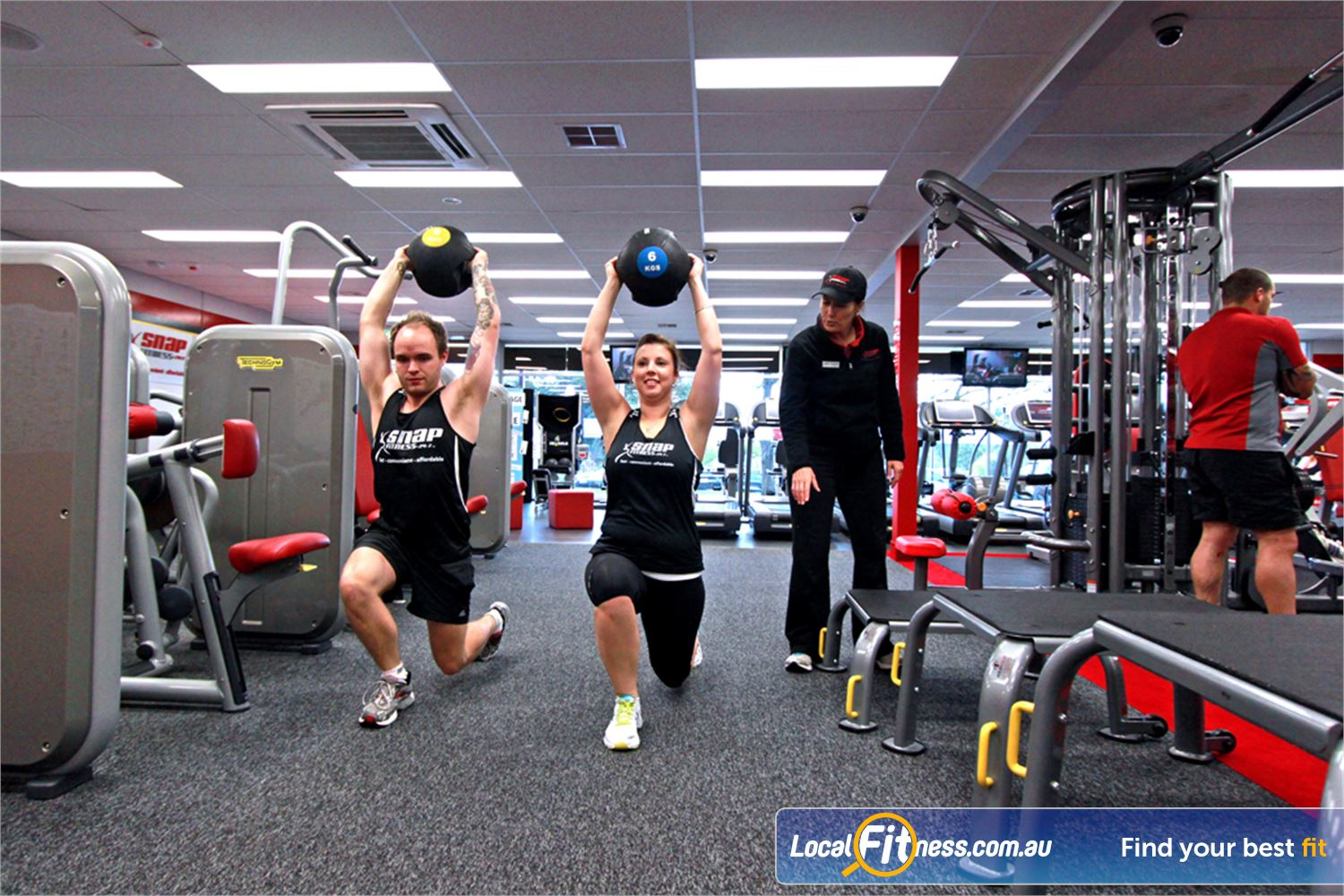 Snap Fitness Near Mooroolbark Fast track your progress with affordable Croydon personal training.